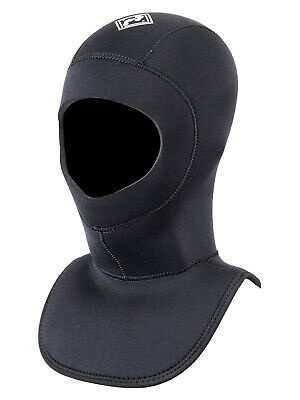 TBF Dive Hood 5mm / 7mm Neoprene Diving Wetsuit Collar - Scuba Surf Kayak