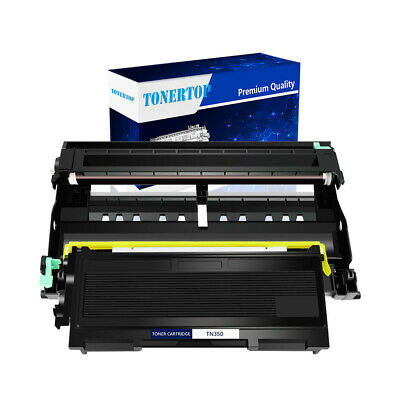 1 PK TN350 + 1 PK DR350 (Toner Drum Set)For Brother DCP-7020 MFC-7820N HL-2070N