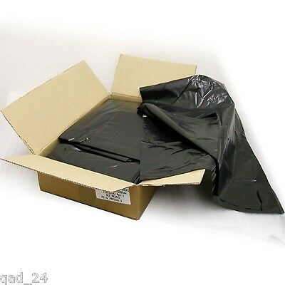 Black Bags Bin Liners Refuse Sacks Rubbish Uk Made 80G Gauge Standard Boxed New