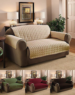 Quality Microfiber Pet Dog Loveseat/Small Sofa Protector Cover