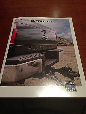 2015 Ford Super Duty 44-page Original Sales Brochure