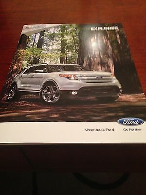 2014 Ford Explorer 36-page Original Sales Brochure
