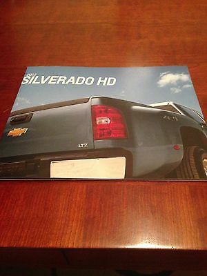 2013 Chevy Silverado HD 40-page Original Sales Brochure