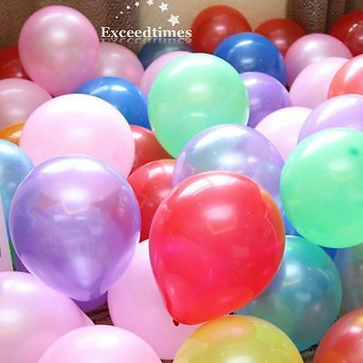 """10pcs 12"""" 30CM Top Quality Wedding Party Decor Pearlized Latex Balloons Supplies"""
