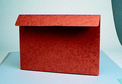 Star Products Envelope with Velcro Closure, 9-1/2 X 11-3/4 X 2 Inches, Red Fiber