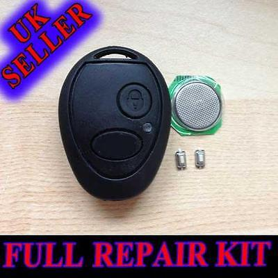 for LAND ROVER DISCOVERY 1 & 2 TD4 TD5 TDI MG REMOTE FOB KEY CASE REPAIR KIT LR2