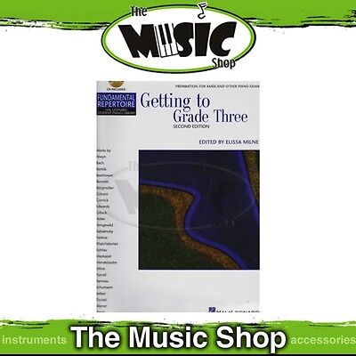 New HLSPL Getting to Grade 3 Music Book & CD - Hal Leonard Student Piano Library