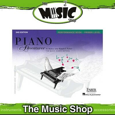 New Piano Adventures Performance: Primer Level Music Tuition Book - 2nd Edition