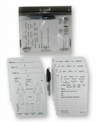 Combat Casualty Card-8 Pack W/ Sharpie Marker  (30-0004)