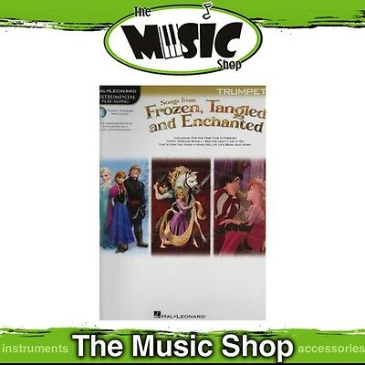 New HL Play Along: Songs from Frozen, Tangled & Enchanted for Trumpet Music Book