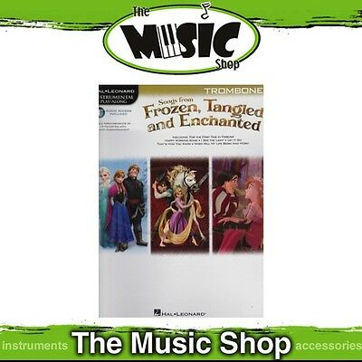 New HL Play Along: Songs from Frozen Tangled & Enchanted for Trombone Music Book