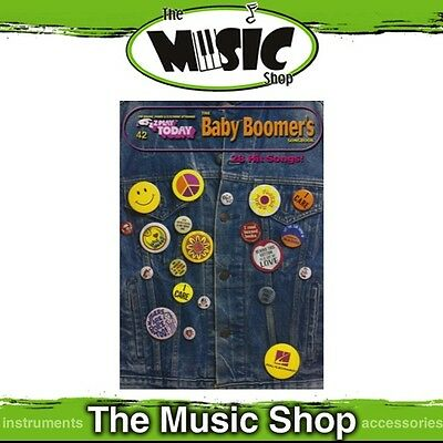 New EZ Play #42 The Baby Boomers Piano Music Book -  Easy Play E-Z
