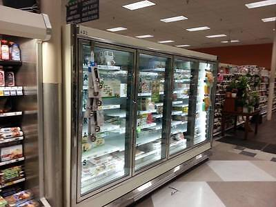 46 Hussmann Reach In Cooler or Freezer Doors for Grocery C-Store w/LED Lighting!