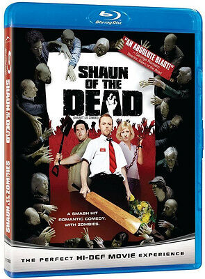 SHAUN OF THE DEAD (SIMON PEGG) *NEW BLU-RAY*