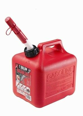 2 Gallon Spill Proof Gas Can Gasoline Container Plastic Can Container
