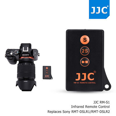 JJC wireless Remote Control For Sony A6000 A77II A7 A7R NEX 5T 6 AS RMT-DSLR 1 2