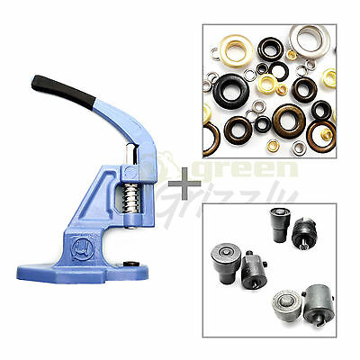 Starter hand press 3 die set tool for eyelets and 900 eyelets Vinyl Banner S025