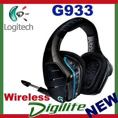 Logitech G933 Artemis Spectrum RGB Wireless 7.1 Surround Sound Gaming Headset