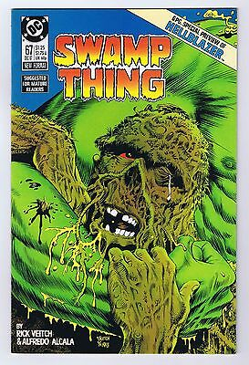 Swamp Thing #67 Preview of Hellblazer 1987 Fine DC Comics