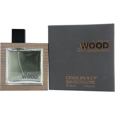 He Wood Rocky Mountain by Dsquared2 EDT Spray 3.4 oz