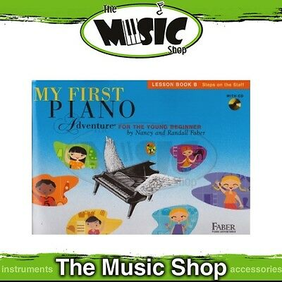 New My First Piano Adventure: Lesson Book B Music Tuition Book & CD