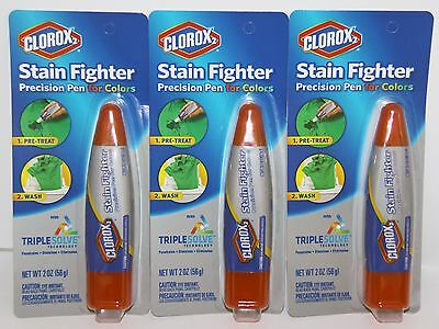 Clorox Stain Fighter Precision Pen for Colors with Triple Solve Technology (✿◠‿◠