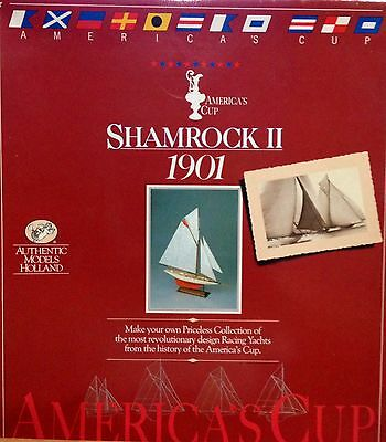 AUTHENTIC MODELS HOLLAND SHAMROCK II 1901 NAVE SCATOLA DI MONTAGGIO ART. SM35