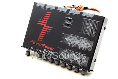 Precision Power E.DZ NEW Dual Zone 7-Band Equalizer with Auxiliary Input