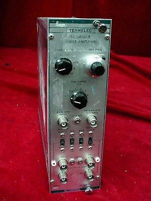 Tennelec TC 203BLR Linear Amplifier NIM BIN Plug-In Module TC203BLR