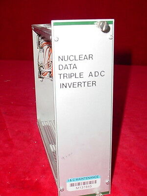 Nuclear Data NIM BIN Plug-In Module Tennelec EG&G Ortec
