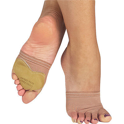 Dance Paws - Light & Dark Nude - Size X-Small - Padded & Traction