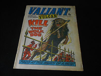 VALIANT & VULCAN - Date 03/07/1976 - IPC UK Comic