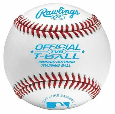 Rawlings Official Soft Core T-Ball 9 Inch *new*