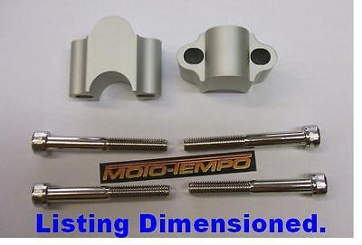 CNC 30mm BAR RAISERS RISERS FOR Yamaha MT-03 FZS 600 1000 FZ1 FZ6 Fazer XJ6 XJ9