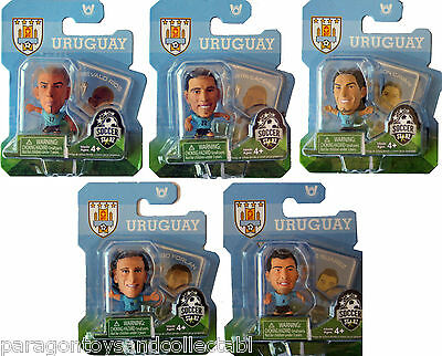 URUGUAY WORLD CUP 2014 HOME KIT SOCCERSTARZ - Choice of 5 different blisters