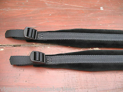 Nylon & velvet Accordion straps Italcinte 321av Medium size 5cm ITALCINTE Italy