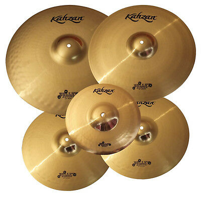 "New Kahzan ""Bullet"" Series 14""/16""/20"" Cymbal Pack for Drum Kit"