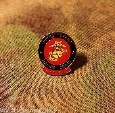 US Marines Seal with Retired Rocker Vest & Hat Pin