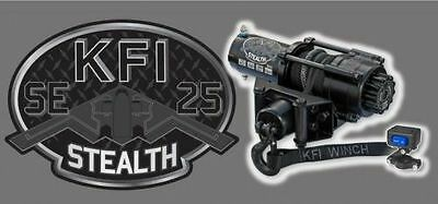 2500 lb KFI Stealth Winch Kit Combo/ Arctic Cat Prowler, ATV, Can-AM Outlander