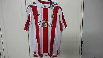 Umbro 2008-09 Official Lincoln City Home Soccer Jersey