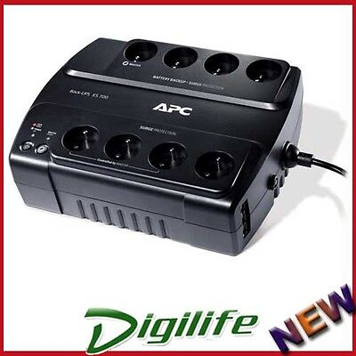 APC Power Saving Back UPS 8 Outlet ES 700VA / 405W 230V BE700G-AZ