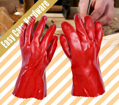 PVC Working Chemical Petrol Gloves glove  27cm 40cm New
