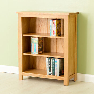 Carne Oak Small Bookcase / Solid Oak Shelving /Handcrafted Quality Oak Bookshelf