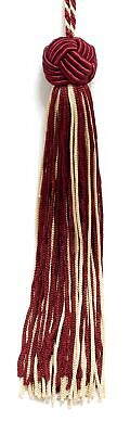 """RED 5.5"""" Chainette Tassels RED [Set of 10]"""