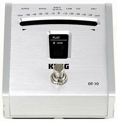 Korg DT10 Digital Foot Pedal Chromatic Tuner