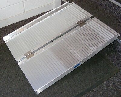 Alloy Portable WheelChair/Jetwash Access Ramp
