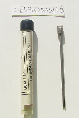 """OK Indstries SB30MSH-B, Modified Wire Wrap Bit, 28-32 Awg Wire, For .025"""" Sq NOS"""