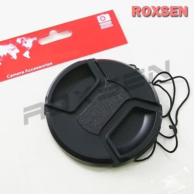 67mm Center Pinch Snap on Front Lens Cap Cover for Nikon Canon Sony DSLR camera