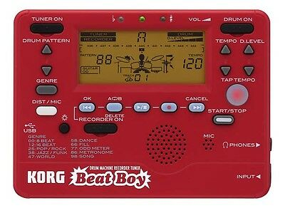 Korg BeatBoy Drum Machine Recorder and Tuner Beat Boy
