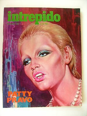 Intrepido 1973 - 35 - Patty Pravo - Ottimo - Con Inserto